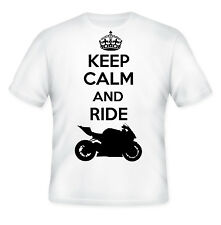 GERMAN MOTORCYCLE S1000 RR KEEP CALM - NEW AMAZING GRAPHIC TSHIRT- S-M-L-XL-XXL