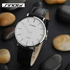 0.6cm Ultra thin Fashion  Casual water resistence Men's Wristwatch Hot sell