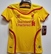 BNWT LIVERPOOL AWAY WOMENS FOOTBALL SOCCER JERSEY TRIKOT 2014 2015