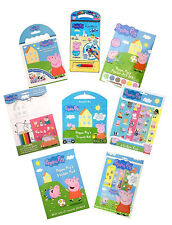 Peppa Pig Activity, Colouring, Sticker & Carry Sets Gifts, Prizes, Party favours