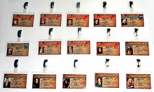 Harry Potter ID Badges Hogwarts Witch Wizard Cosplay Costume Prop Halloween