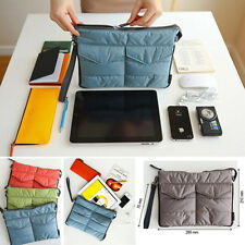 New Universal Soft Padded Sleeve Case Bag Pouch Cover For iPad 1/2/3/4 MINI Air