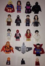 Lego Super Heroes Custom Minifigures By Poppunkmunky On 100% Lego Pieces