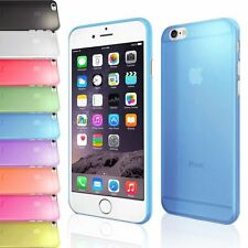 ULTRA THIN 0.5MM CLEAR TRANSPARENT SLIM PLASTIC CASE BACK COVER FOR IPHONE 6 6S