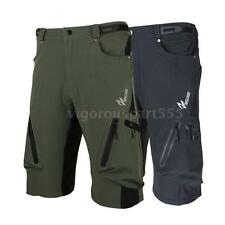 Arsuxeo Baggy Shorts MTB Cycling Bicycle Bike Pants Shorts Breathable Loose 30V3