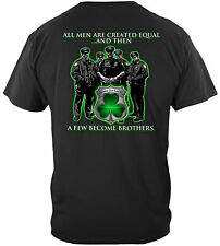 Erazor Bits T-Shirt - Police - Irish Brotherhood - All Men Are Created Equal The