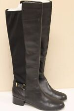 Bandolino Cuyler Womens Black Leather Fashion Knee-High Boots Size 9 NEW!!