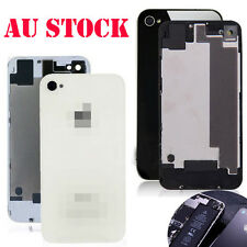Back Glass Replacement Rear Battery Cover Housing Kit For iPhone 4 4S AU Stock