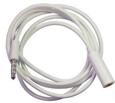 3.5mm Male to Female Stereo Audio Headphone Earphone Aux Extension Cord Cable 1m
