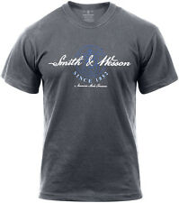 "Smith & Wesson Charcoal Grey ""American Made Firearms"" T-Shirt"