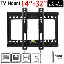 Tilt & Swivel TV Wall Bracket Mount for 14 17 19 21 24 32 inch Plasma LCD LED 3D