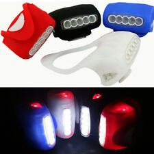1PC Bike Bicycle Cycling 7 LED Silicone Front Lamp Safety Warning Head Light
