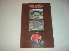 2002 Cleveland Browns Press Book / Media Guide