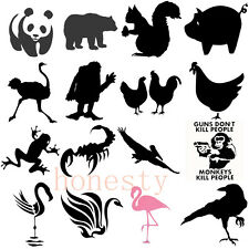 Animal Cartoon Dinosaur Sticker Figure Car Truck Window Vinyl Decal 18 Style