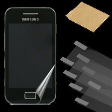 "Guard Cover Film 10x 5x Clear Screen Protector For 3.5"" Samsung Galaxy Ace S5830"