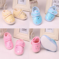 Non-Slip Newborn Infant Baby Toddler Soft bottom Shoes 3 Colors Girls Boys Nice