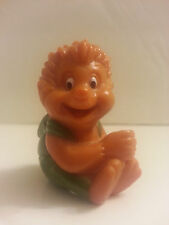 1993 Long John Silvers Once Upon a Forest Russell Hedgehog Straw Hugger PVC
