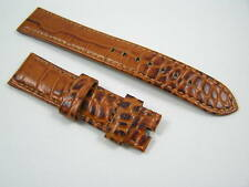 HANDMADE LEATHER WATCH STRAP FOR ROLEX DAYTONA SUBMARINER GMT 20mm