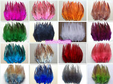 Wholesale 50/100pcs beautiful rooster tail feathers 12-15cm / 5-6inches 28Colors