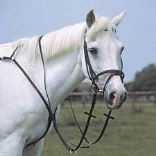 Heritage English Leather Breastplate With Running Martingale Attachment