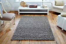 BEIGE Plain Easycare Affordable QUALITY Shaggy Rug Hallway Runner XS-Large 30%OF