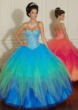 Sweetheart Evening/Prom/Pageant/Party dress/Quinceanera/Ball gown Custom Made