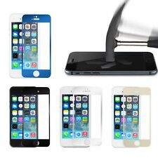 Color Mirror Premium Real Tempered Glass Screen Protector For iPhone 5 5S UL