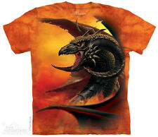 Scourge Kids T-Shirt from The Mountain. Fantasy Dragon Child Sizes NEW