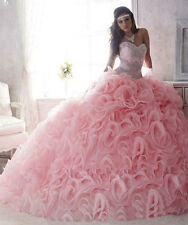 Hot Sale Attracting Ball Gown Organza Quinceanera Dresses Custom Made All Size