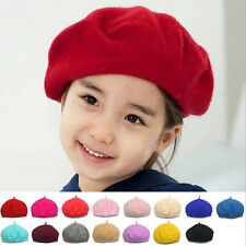 1PCS Baby Children Woolen Beret Winter Warm Hat Girl Boy Kids Beanie Cap Hat