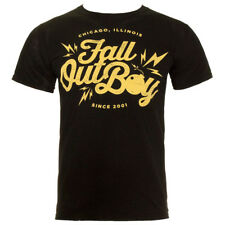 New Fall Out Boy Bomb Design T Shirt Tee Top Official Emo Band Music Merchandise