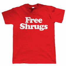 Free Shrugs Mens Funny Slogan T Shirt - Birthday Gift for Him Dad Fathers Day