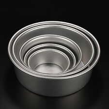 Round Aluminum Baking Tin Pan Mold Mould for Sandwich Cake Kitchen DIY 6 Sizes