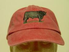 BLACK ANGUS CATTLE RANCH HAT LADIES MEN BASEBALL CAP - Price Embroidery