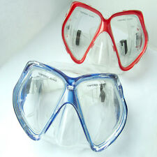 Tempered Glass Silicone Mask Diving mask SCUBA Divers Water Sports Snorkeling