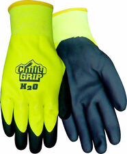 Chilly Grip H2O Waterproof Gloves, Red Steer A324, PVC Outer Dip for Grip