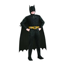 Batman Dark Knight Deluxe Boys Child Kids Youth Muscle Chest Costume