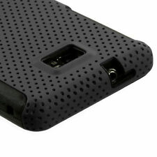 For Samsung Galaxy S2 AT&T i777 / i9100 - HYBRID HARD&SOFT DUAL LAYER CASE COVER