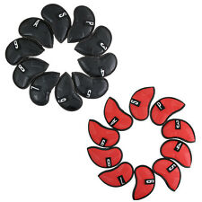 New 10pcs Golf Iron Cover Headcover For Taylormade Ping Mizuno Titleist Callaway