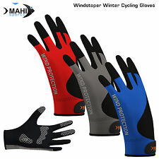 Cycling Gloves Bike Full Fingers Autumn/Winter Windproof Bicycle Sports Gloves