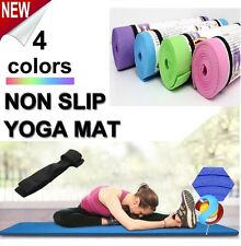 Yoga Mat 6MM Thick Exercise Non-slip Pad Gym Lose Weight Durable Fitness