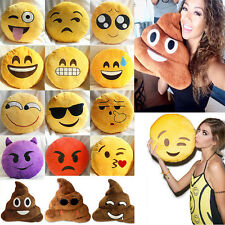 Funny Emoji Emoticon Cushions Poo Shaped Plush Stuffed Toys Dolls Pillows Decor