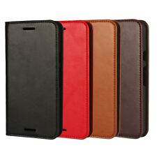 Genuine Leather Flip Card Slot Wallet Holder Phone Cases Covers For LG Nexus 5X