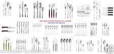 IKEA 12 24 30 60 Piece Stainless Steel Kitchen Cutlery Set Knives, Forks, Spoons