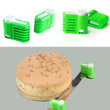 5 Layers Kitchen DIY Cake Bread Cutter Leveler Slicer Cutting Fixator Tool New