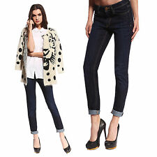 Anladia Women Classic Style Denim Look Sexy Skinny Leggings Jeans Stretch Pants