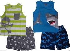 Boys Clothes Kids Summer Vests Top Shorts Sets Outfits 12 18 Months 2 3 4 Years