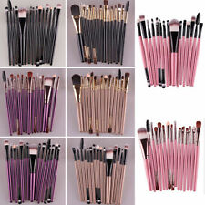 15Pcs/Set Make Up Brushes Kit Eyeshadow Eyeliner Mascara Eye Brush Tools Pro