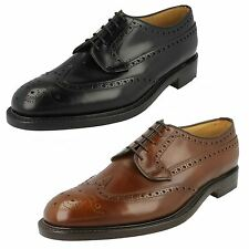 Mens Loake Formal Brogue Shoes The Style - Braemar