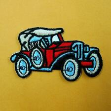 Vintage Car Racing Iron on Sew Patch Embroidery Applique Badge Sports Biker Cute